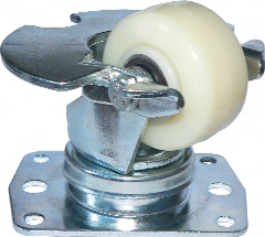 Inverted Air Cargo Castor, Swivel Top Plate Castor with Attached Toe Guard