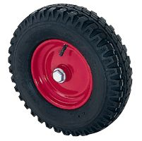 Pneumatic Tyre with Plastic Centre, Wheel, Ball Bearing