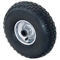 Pneumatic Tyre with Plastic Centre, Wheel, Roller Bearing