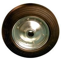 Solid Rubber Tyre with Steel Centre, Ball Bearing