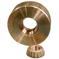 Solid Mild Steel Wheel, Tapered Roller Bearing