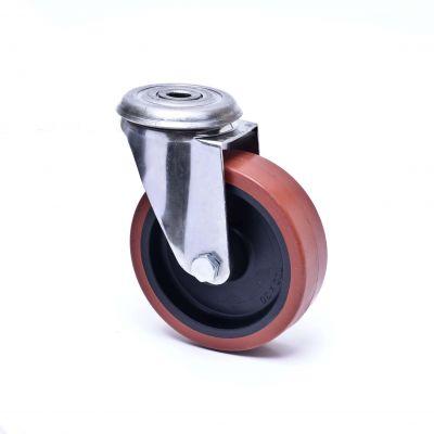 Technopolymer Tyre with Nylon Centre, Bolt Hole Castor